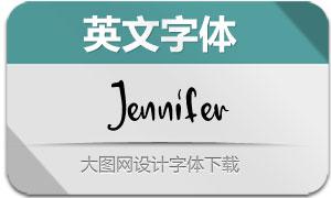 Jennifer-Regular(英文字体)