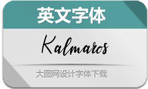 Kalmaros-Regular(英文字体)