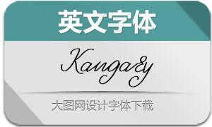 Kangary-Regular(英文字体)