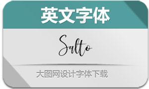 Salto-Regular(英文字体)