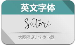 Satori-Regular(英文字体)