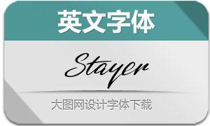 Stayer-Regular(英文字体)