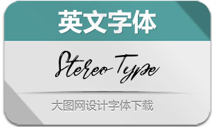 StereoType-Regular(英文字体)