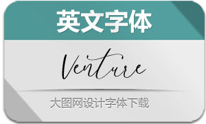 Venture-Regular(英文字体)