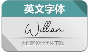 William-Regular(英文字体)