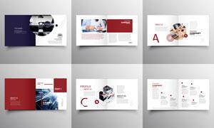 多用途的商务主题版式设计矢量素材