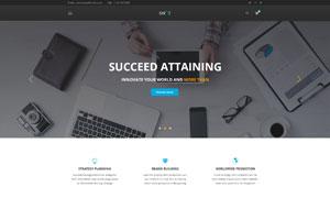 個人與公司通用網頁版式設計源文件