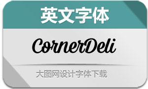 CornerDeli系列14款英文字体