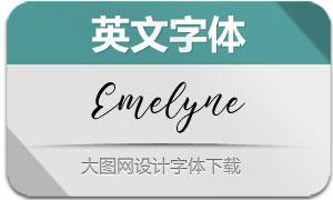 Emelyne(英文字体)