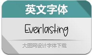 Everlasting(英文字体)