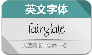 Fairytale(英文字体)
