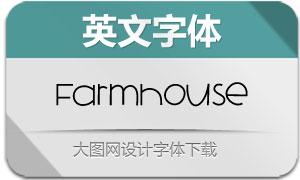 Farmhouse(英文字体)