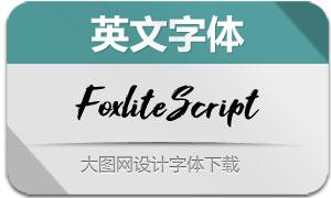 FoxliteScript(英文字体)