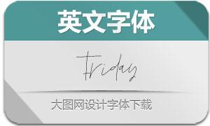 Friday(英文字体)