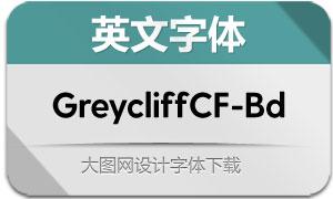 GreycliffCF-Bold(英文字体)