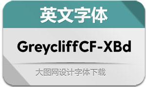 GreycliffCF-ExtraBold(英文字体)