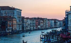 意大利水城威尼斯城市风光高清图片