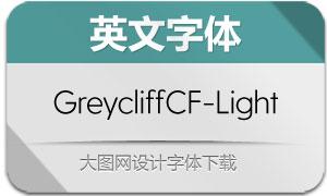 GreycliffCF-Light(英文字体)