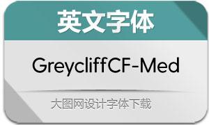 GreycliffCF-Medium(英文字体)
