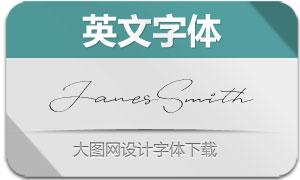 JanesSmith(英文字体)