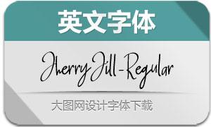 JherryJill-Regular(英文字体)