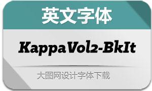 KappaVol2-BlackIt(英文字体)