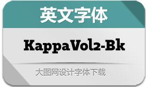 KappaVol2-Black(英文字体)