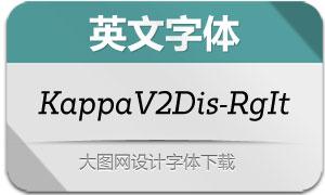 KappaVol2Disp-RgIt(英文字体)