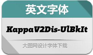KappaVol2Disp-UlBkIt(英文字体)