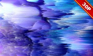 数字波形风格抽象创意背景高清图片