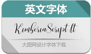 KimberiaScript-Italic(英文字体)