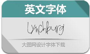 Lynchburg(英文字体)