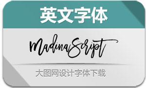 MadinaScript(英文字体)