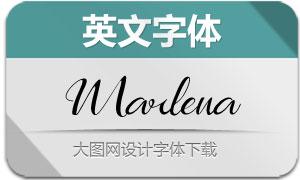 Marlena(英文字体)