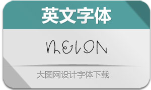Melon(英文字体)