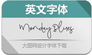 MondayBlues(英文字体)