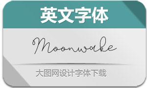 Moonwake(英文字体)