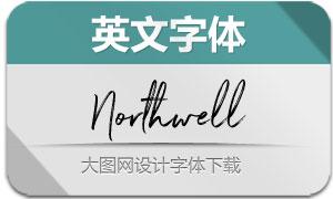 Northwell系列3款英文字体