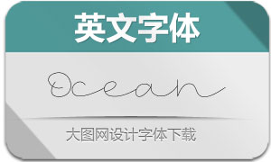 Ocean(英文字体)