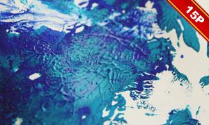 多款水彩颜料元素纹理图片集合V05