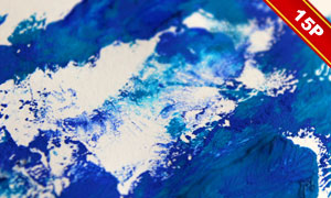 多款水彩颜料元素纹理图片集合V06