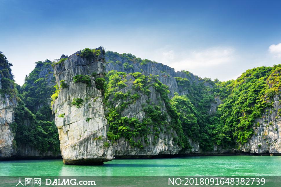 越南下龙湾风景高清图片下载 关 键 词: 高清图片大图图片摄影自然