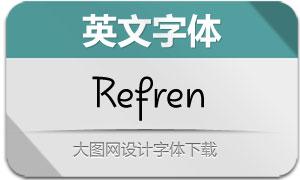Refren(英文字体)