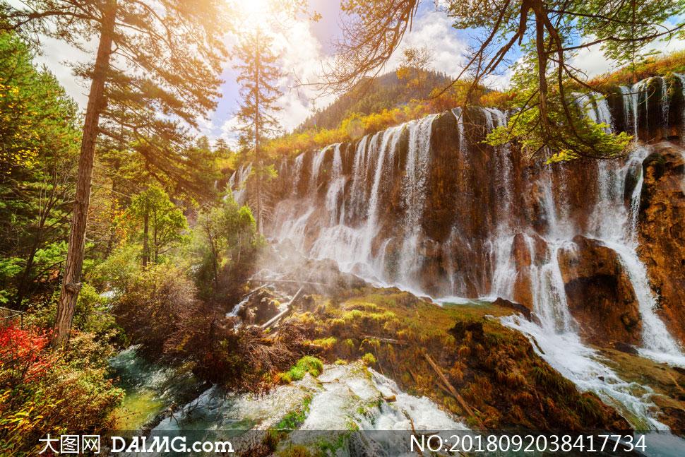 壁纸 风景 旅游 瀑布 山水 桌面 970_647