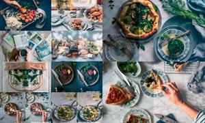 48款食品照片Instagram复古效果LR预设