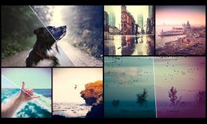 140款旅行照片后期美化处理LR预设