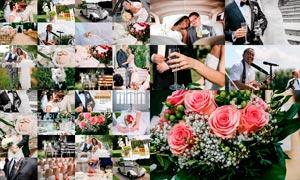 24款时髦的婚礼随拍后期调色LR预设