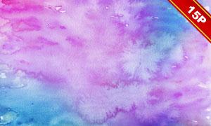 五彩缤纷水彩背景系列高清图片集V02
