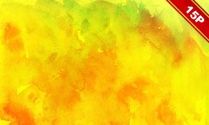 五彩缤纷水彩背景系列高清图片集V04
