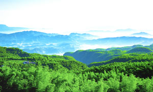 兴文�k王山美丽全景摄影图片
